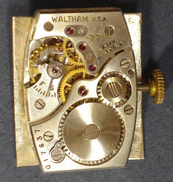 waltham wrist watch pictures